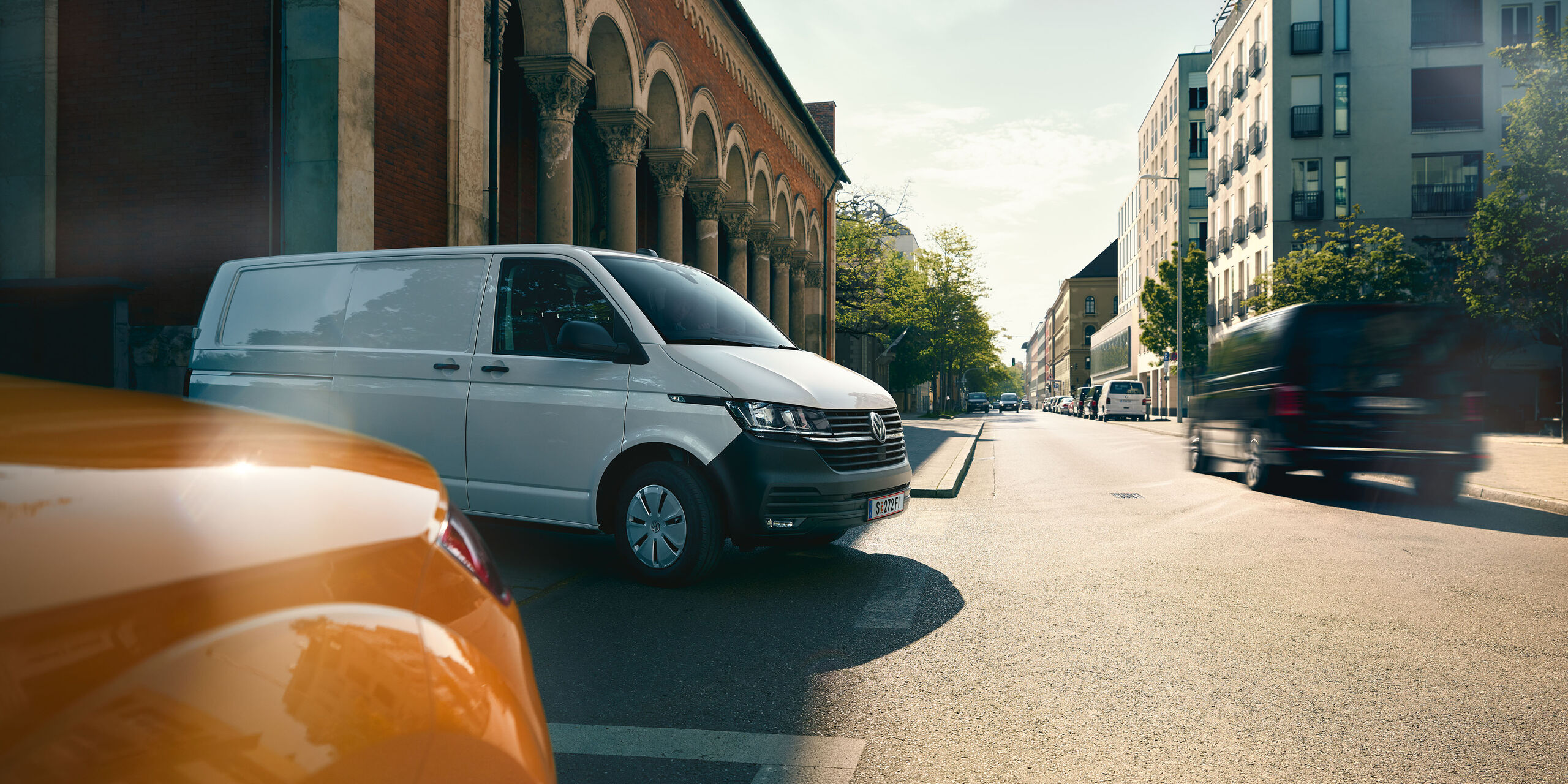 VW Caddy Товарен вариант T6 транспортер бял
