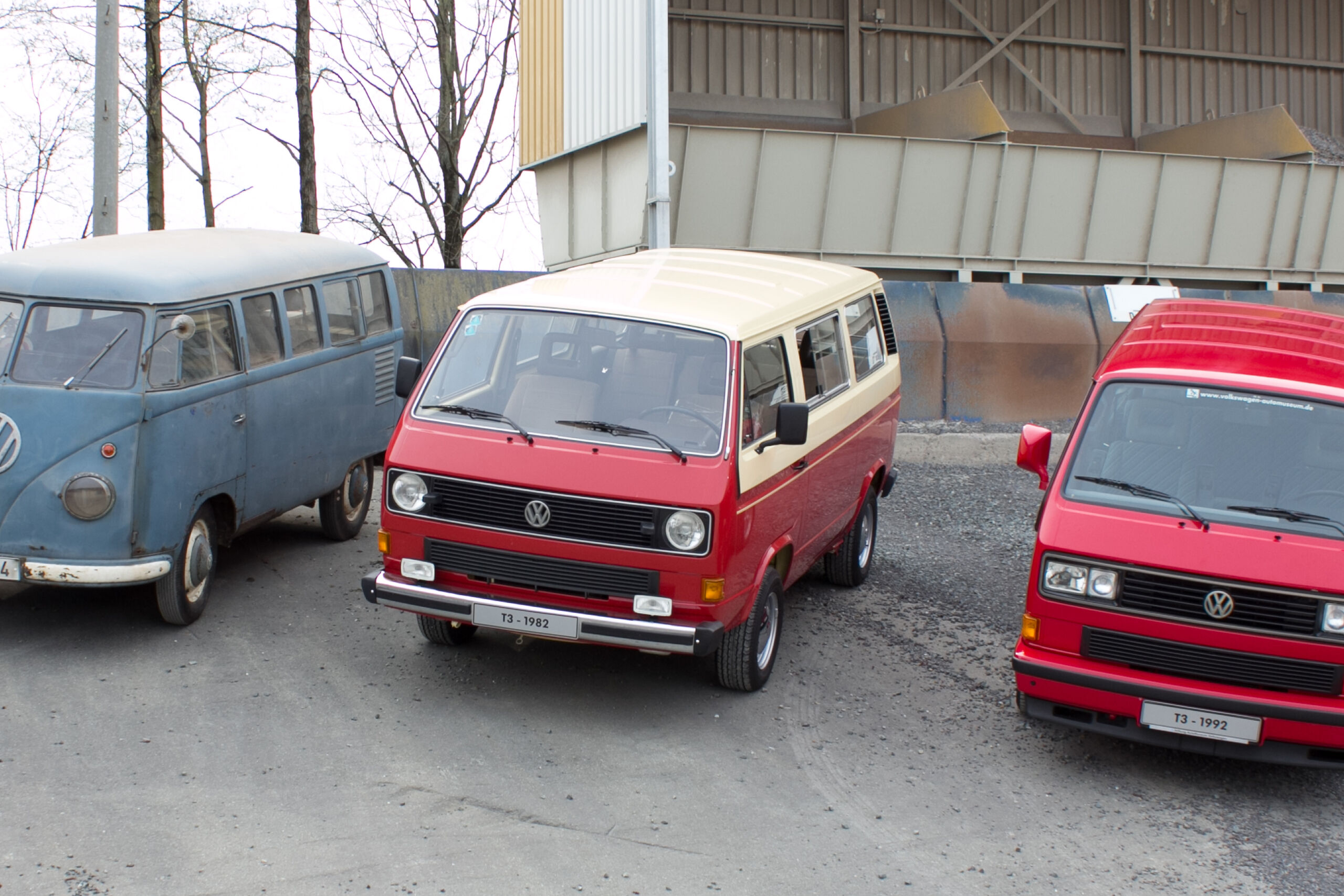 VW T1 Автомобил с радар за измерване 1953 T3 Bus 1982 T3 Limited Last Edition 1992